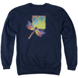 Crewneck Sweatshirt: Yes- Dragonfly Stamp T-shirts