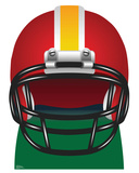 Football Helmet Cardboard Cutouts