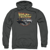 Hoodie: Back To The Future- Time Machine Pullover Hoodie