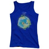 Juniors Tank Top: Yes- Fragile Cover T-shirts