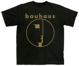 Bauhaus - Spirit Logo Gold Shirt