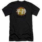 Firefly- Distressed Serenity Logo Slim Fit T-Shirt