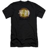 Firefly- Distressed Serenity Logo Slim Fit Shirts