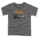 Toddler: Back To The Future- Time Machine Shirts