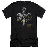 Always Sunny In Philadelphia- Rocker Heads Slim Fit T-Shirt