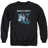 Crewneck Sweatshirt: Mortal Kombat X- Raiden Electrified Shirts