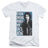 Rocky Horror Picture Show- Face Ache V-Neck T-shirts