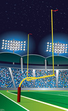 Football Goal Post Cardboard Cutouts