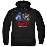 Hoodie: Mortal Kombat X- Sub-Zero Vs. Scorpion Pullover Hoodie