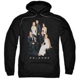 Hoodie: Friends- Formal Black & Whites Pullover Hoodie