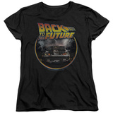 Womens: Back To The Future- Back T-Shirt