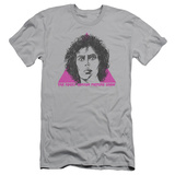 Rocky Horror Picture Show- Frank Face Slim Fit T-shirts