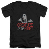 Rocky Horror Picture Show- Creature Of The Night V-Neck V-Necks