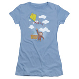 Juniors: Curious George- Flight T-shirts