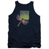 Tank Top: Yes- Dragonfly Stamp Tank Top