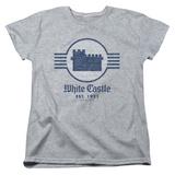 Womans: White Castle- Emblem T-shirts
