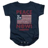Infant: Woodstock- Peace Now Onesie Infant Onesie