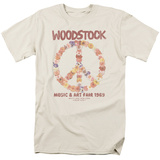 Woodstock- Floral Peace Shirts