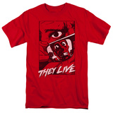 They Live- Graphic Poster T-shirts