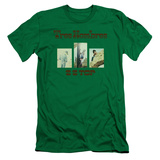 ZZ Top- Tres Hombres Album Art Slim Fit T-Shirt