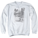Crewneck Sweatshirt: Woodstock- Hippies In A Field T-Shirt