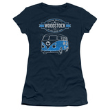 Juniors: Woodstock- Peace Van T-Shirt
