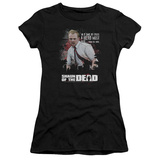 Juniors: Shaun Of The Dead- Hero Must Rise T-shirts