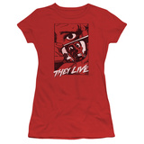 Juniors: They Live- Graphic Poster Shirts