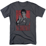 Scarface- Tony Tropic Stamp T-Shirt