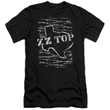 ZZ Top- Distressed Barbed Texas Slim Fit T-shirts