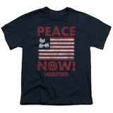 Youth: Woodstock- Peace Now T-shirts