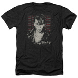 Cry Baby- Drapes & Squares T-shirts