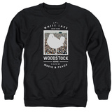 Crewneck Sweatshirt: Woodstock- Crowd Bird Stamp T-shirts