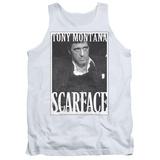 Tank Top: Scarface- Business Face Tank Top