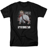 Shaun Of The Dead- Hero Must Rise T-Shirt