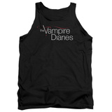 Tank Top: Vampire Diaries- Show Logo Tank Top
