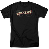 They Live- Glasses Logo Shirts
