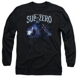 Long Sleeve: Mortal Kombat- Sub-Zero In Shadows Long Sleeves