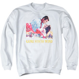 Crewneck Sweatshirt: Gone With The Wind- On Fire T-shirts