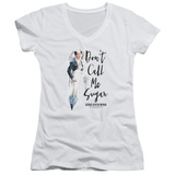 Juniors: Gone With The Wind- Don't Call Me Sugar V-Neck Womens V-Necks