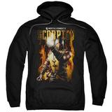 Hoodie: Mortal Kombat- Scorpion Calling Fire Pullover Hoodie