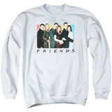 Crewneck Sweatshirt: Friends- Cast Logo T-shirts