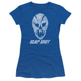 Juniors: Slap Shot- The Mask T-Shirt