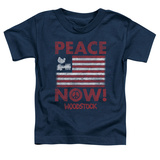 Toddler: Woodstock- Peace Now T-shirts