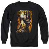 Crewneck Sweatshirt: Mortal Kombat- Scorpion Calling Fire T-Shirt