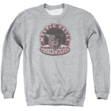 Crewneck Sweatshirt: Vampire Diaries- Mystic Falls Timberwolves Patch Shirts