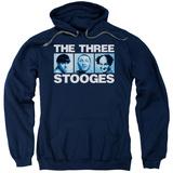 Hoodie: Three Stooges- Three Squares Pullover Hoodie