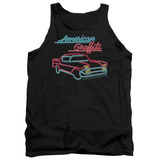 Tank Top: American Grafitti- Neon Tank Top