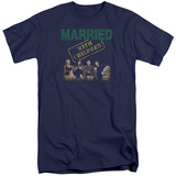 Married With Children- Vintage Bundy Couch Time (Big & Tall) T-Shirt