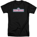Sesame Street- Abby Colors Logo (Big & Tall) Shirt